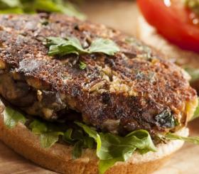 המבורגר פטריות צילום: שאטרסטוק